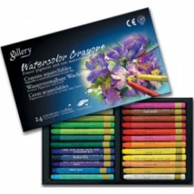 Mungyo Gallery Aquarell Crayon Suda Çözünen Pastel Boya 24 Renk