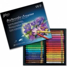 Mungyo Gallery Aquarell Crayon Suda Çözünen Pastel Boya 36 Renk
