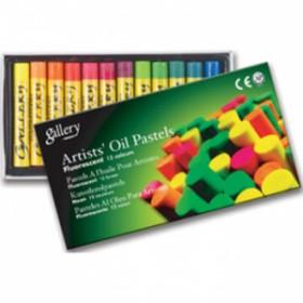 Mungyo Gallery Flourescent Yağlı Pastel 12 Renk Fosforlu