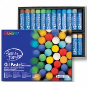 Mungyo Gallery Semi Jumbo Yağlı Pastel 24 Renk