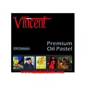 Vincent Premium Oil Pastel 24 Renk