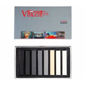 Vincent Soft Pastel 8'li Gri Tonlar