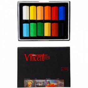 Vincent Soft Pastel 12'li Yarım Boy