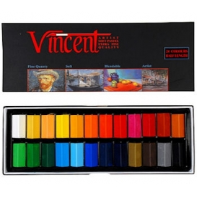 Vincent Soft Pastel 24'lü Yarım Boy