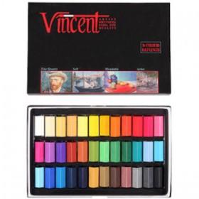Vincent Soft Pastel 36'lı Yarım Boy