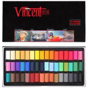 Vincent Soft Pastel 48'li Yarım Boy