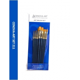 Cenova-Art Karma 9'lu Fırça Seti SET-211
