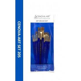 Cenova-Art Karma 12'li Fırça Seti SET-205
