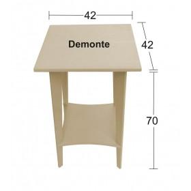 Kare Sehpa Demonte 42x42x70cm
