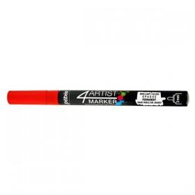 Pebeo 4Artist Oil Marker Yağlıboya Kalemi 2mm Yuvarlak Uç RED