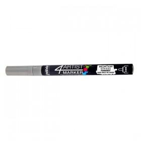 Pebeo 4Artist Oil Marker Yağlıboya Kalemi 2mm Yuvarlak Uç SILVER