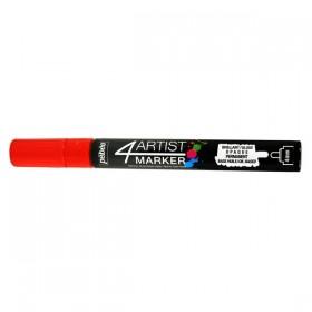 Pebeo 4Artist Oil Marker Yağlıboya Kalemi 4mm Yuvarlak Uç RED