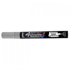 Pebeo 4Artist Oil Marker Yağlıboya Kalemi 4mm Yuvarlak Uç SILVER