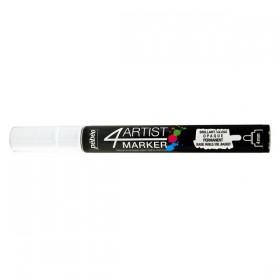 Pebeo 4Artist Oil Marker Yağlıboya Kalemi 4mm Yuvarlak Uç WHITE