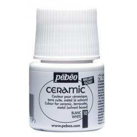 Pebeo Ceramic 10 White Seramik Boyası