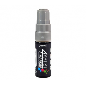 Pebeo 4Artist Oil Marker Yağlıboya Kalemi 8mm Kesik Uç SILVER