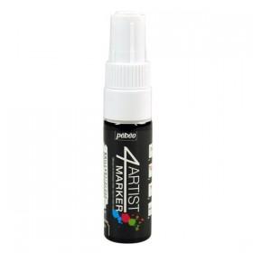 Pebeo 4Artist Oil Marker Yağlıboya Kalemi 8mm Kesik Uç WHITE
