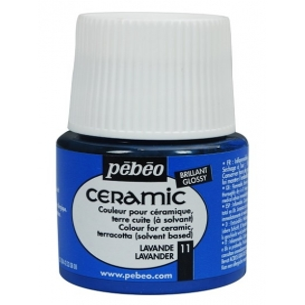 Pebeo Ceramic 11 Lavender Seramik Boyası
