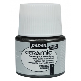 Pebeo Ceramic 13 Metallic Seramik Boyası
