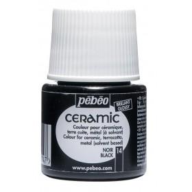 Pebeo Ceramic 14 Black Seramik Boyası