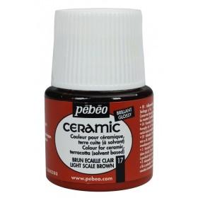 Pebeo Ceramic 17 Light Scale Brown Seramik Boyası