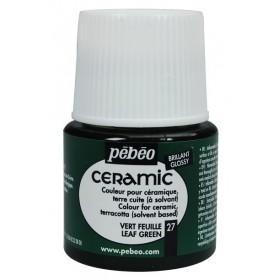Pebeo Ceramic 27 Leaf Green Seramik Boyası