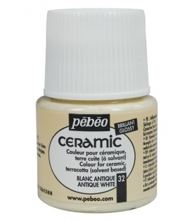 Pebeo Ceramic 32 Antique White Seramik Boyası
