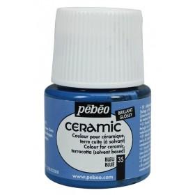 Pebeo Ceramic 35 Blue Seramik Boyası