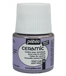 Pebeo Ceramic 36 Light Violet Seramik Boyası