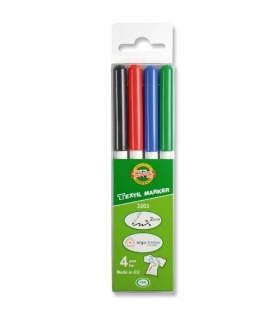Set of textile markers 3203 4