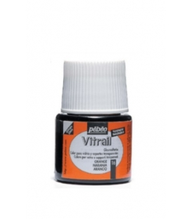 Pebeo Vitrail Cam Boyası Transparan Orange 45ml