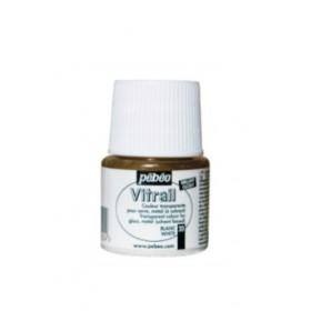 Pebeo Vitrail Cam Boyası Transparan White 45ml