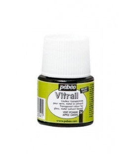 Pebeo Vitrail Cam Boyası Transparan Dark Green 45ml