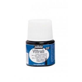 Pebeo Vitrail Cam Boyası Transparan Cobalt Blue 45ml