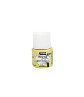 Pebeo Vitrail Cam Boyası Opak Wheat Yellow 45ml