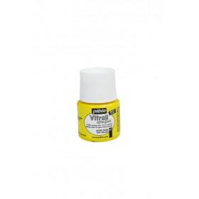 Pebeo Vitrail Cam Boyası Opak Sun Yellow 45ml