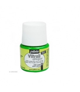 Pebeo Vitrail Cam Boyası Opak Light Green 45ml