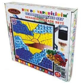 Artebella Seramik Mozaik Seti Güneş Batıyor 20x20cm MS-001