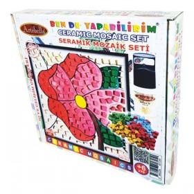 Artebella Seramik Mozaik Seti Pembe Çiçeğim MS-014