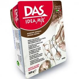 Das Idea Mix Mermer Efektli Seramik Kili 100 gr Kahverengi
