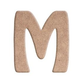 M  CNC Kesim 8mm Duvar Harfi 25cm