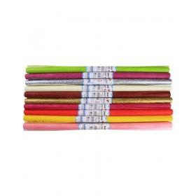 Lino Elyaf Kağıdı 10 Renk 10 Adet 60x60cm