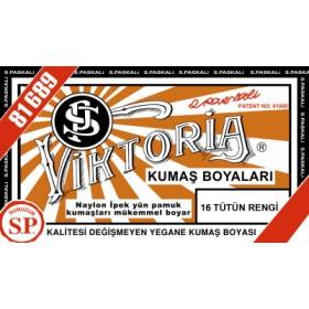 Viktoria Toz Kumaş Boyası 16 Tütün