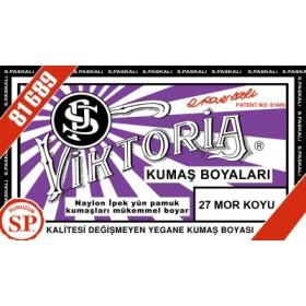 Viktoria Toz Kumaş Boyası 27 Mor Koyu