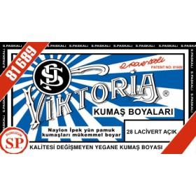 Viktoria Toz Kumaş Boyası 28 Lacivert Açık