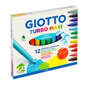 Giotto Turbo Maxi Keçeli Kalem 12li