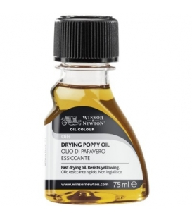 Winsor & Newton Drying Poppy Oil (Kurutucu Haşhaş Yağı) 75ml