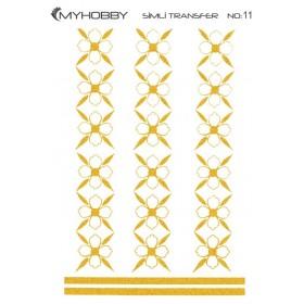 MyHobby Altın Simli Kolay Transfer 17x25cm A-S11