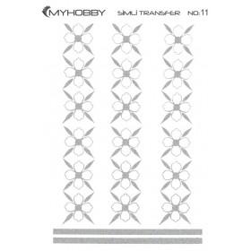 MyHobby Gümüş Simli Kolay Transfer 17x25cm A-S11