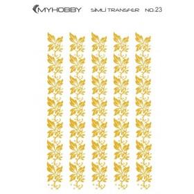 MyHobby Altın Simli Kolay Transfer 17x25cm A-S23